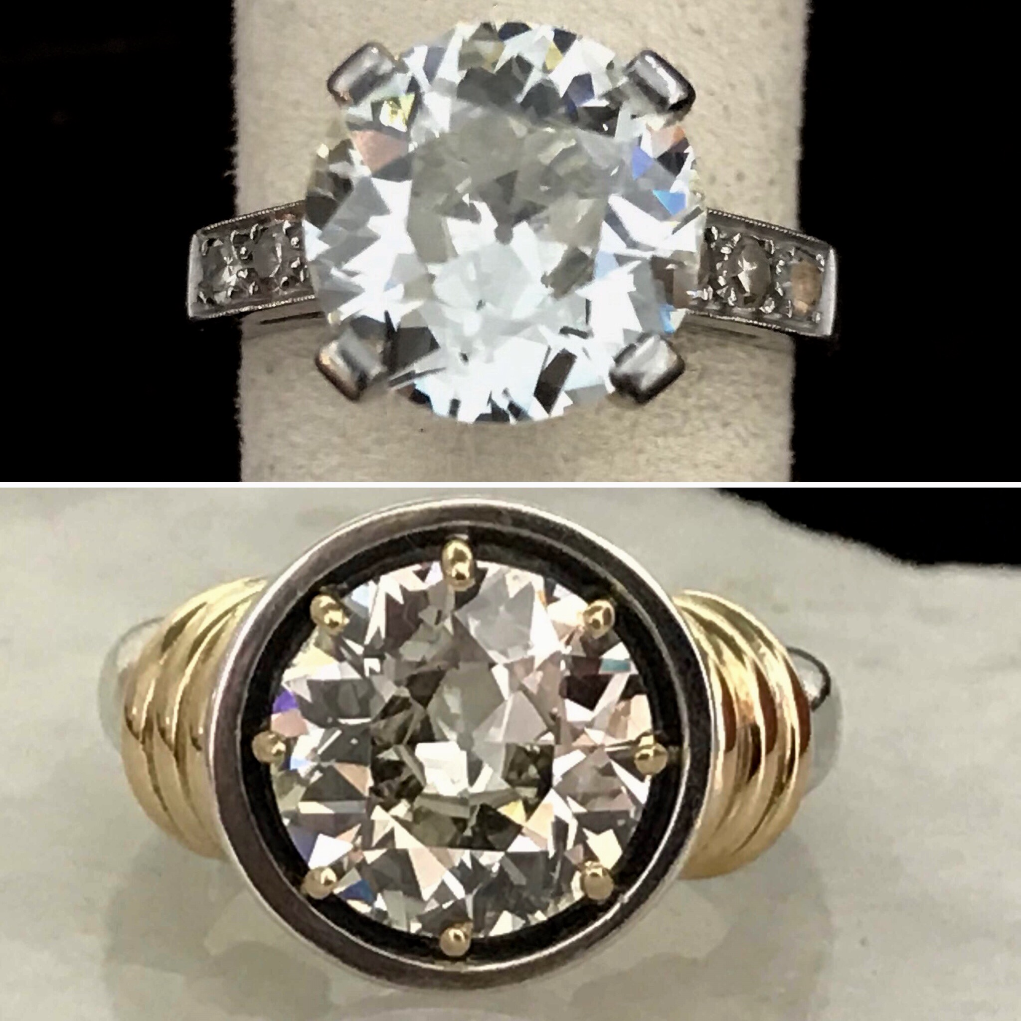 Redesign your Diamond Ring for todays casual lifestyle Bowman